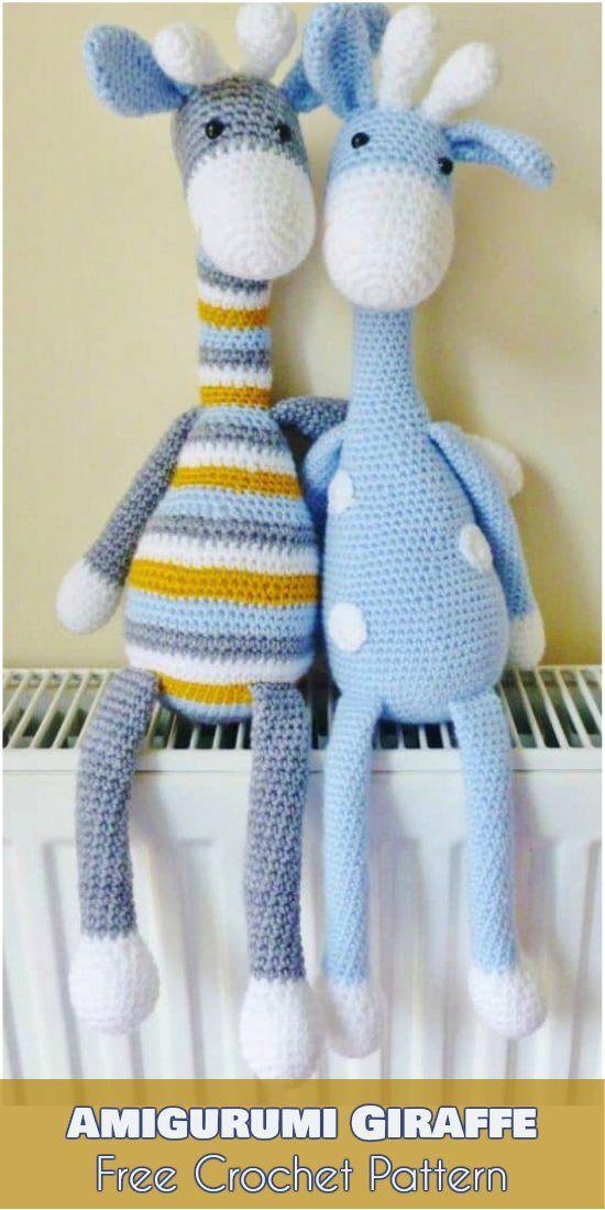 Amigurumi Giraffe – Free Crochet Pattern