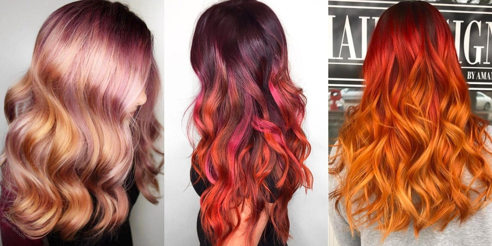 The best red ombré hair inspiration hair inspiration diy haircare