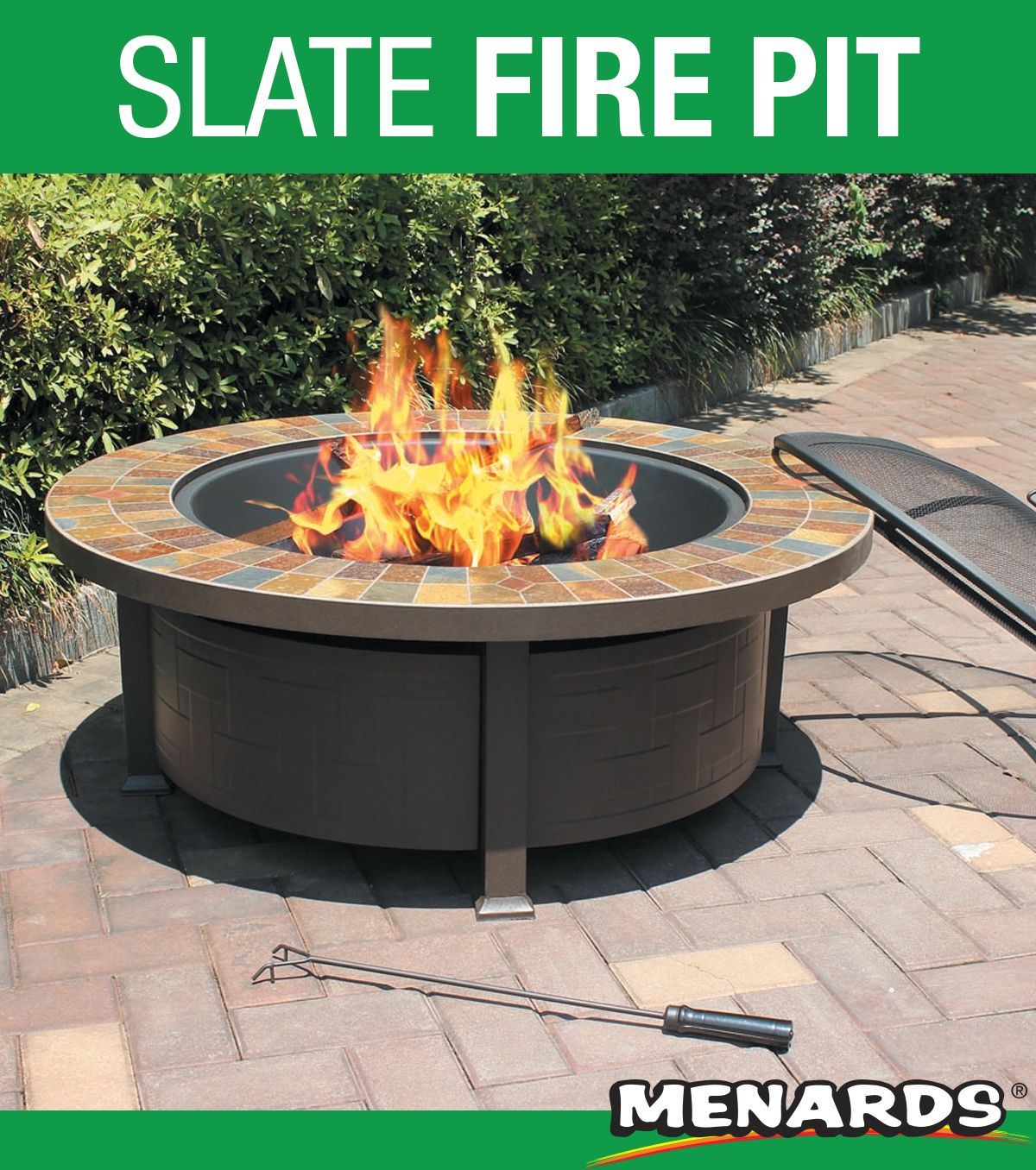 The Backyard Creations 44 Wood Burning Firepit Table Allows You To Comfortably Enjoy The Evenings Backyard Creations Fire Pit Backyard Outdoor Decor Backyard