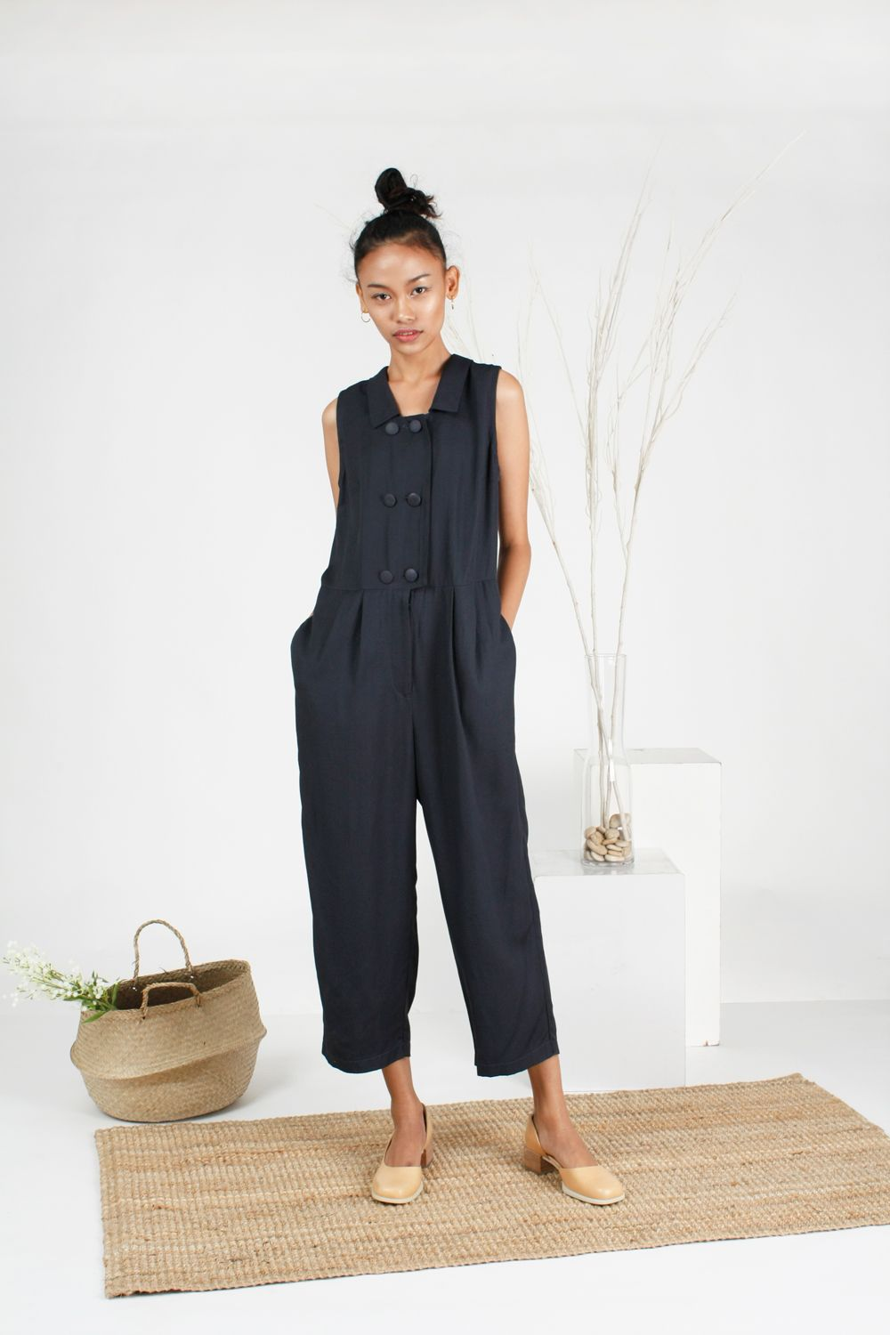 f87ab1c86a2 jumpsuit with collar rompers