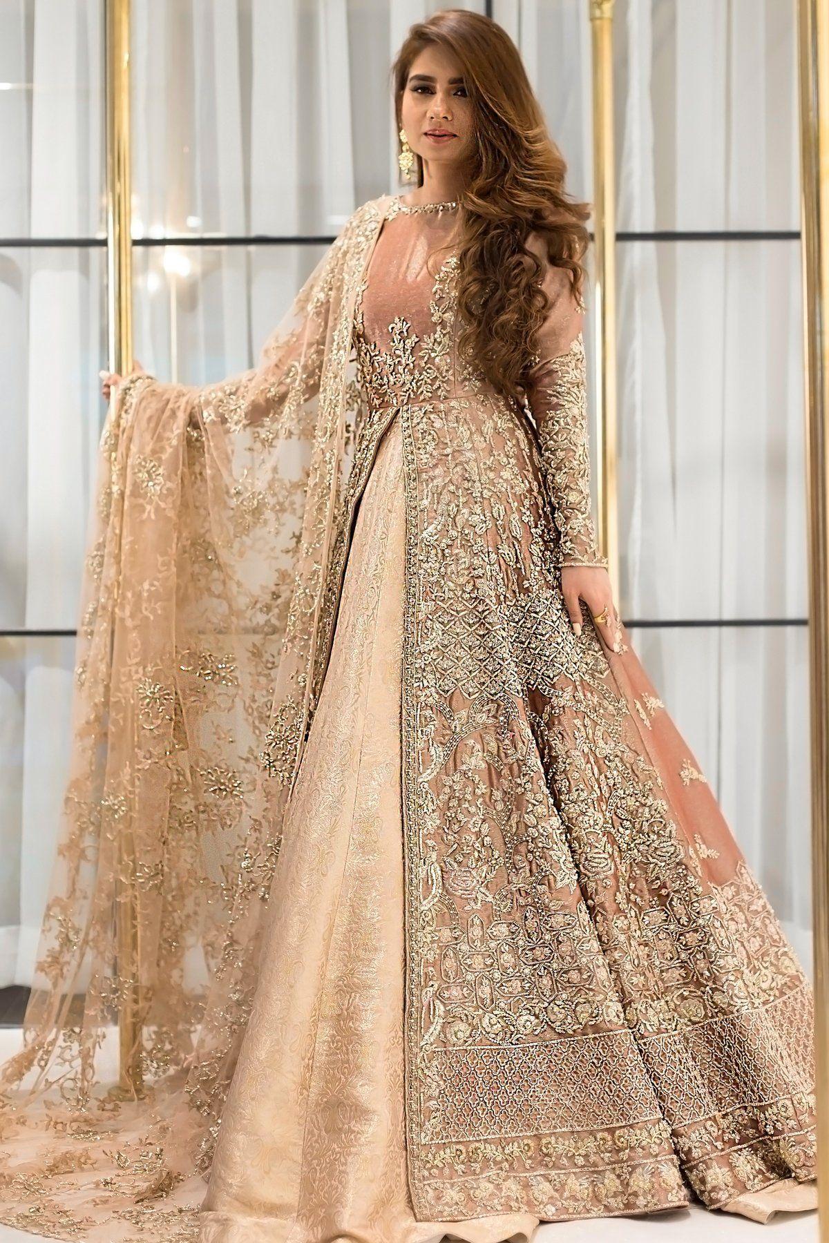 ADAH BRIDAL LEHENGA in 11  Pakistanische hochzeitskleider