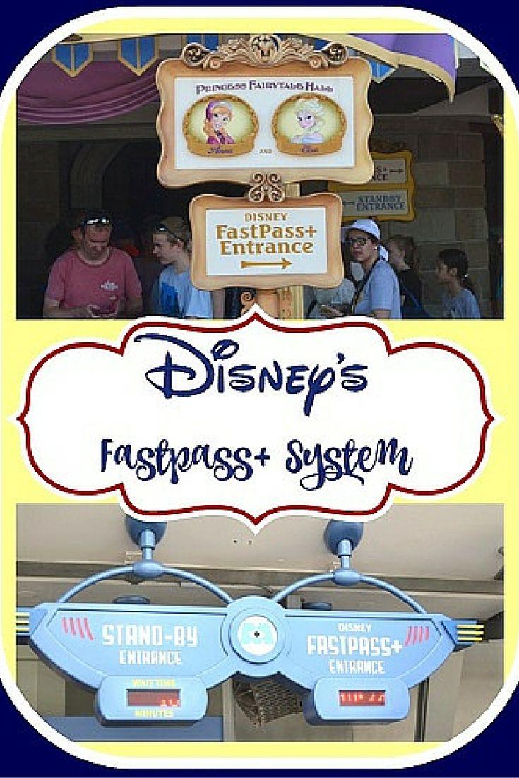 Disney FastPass + System