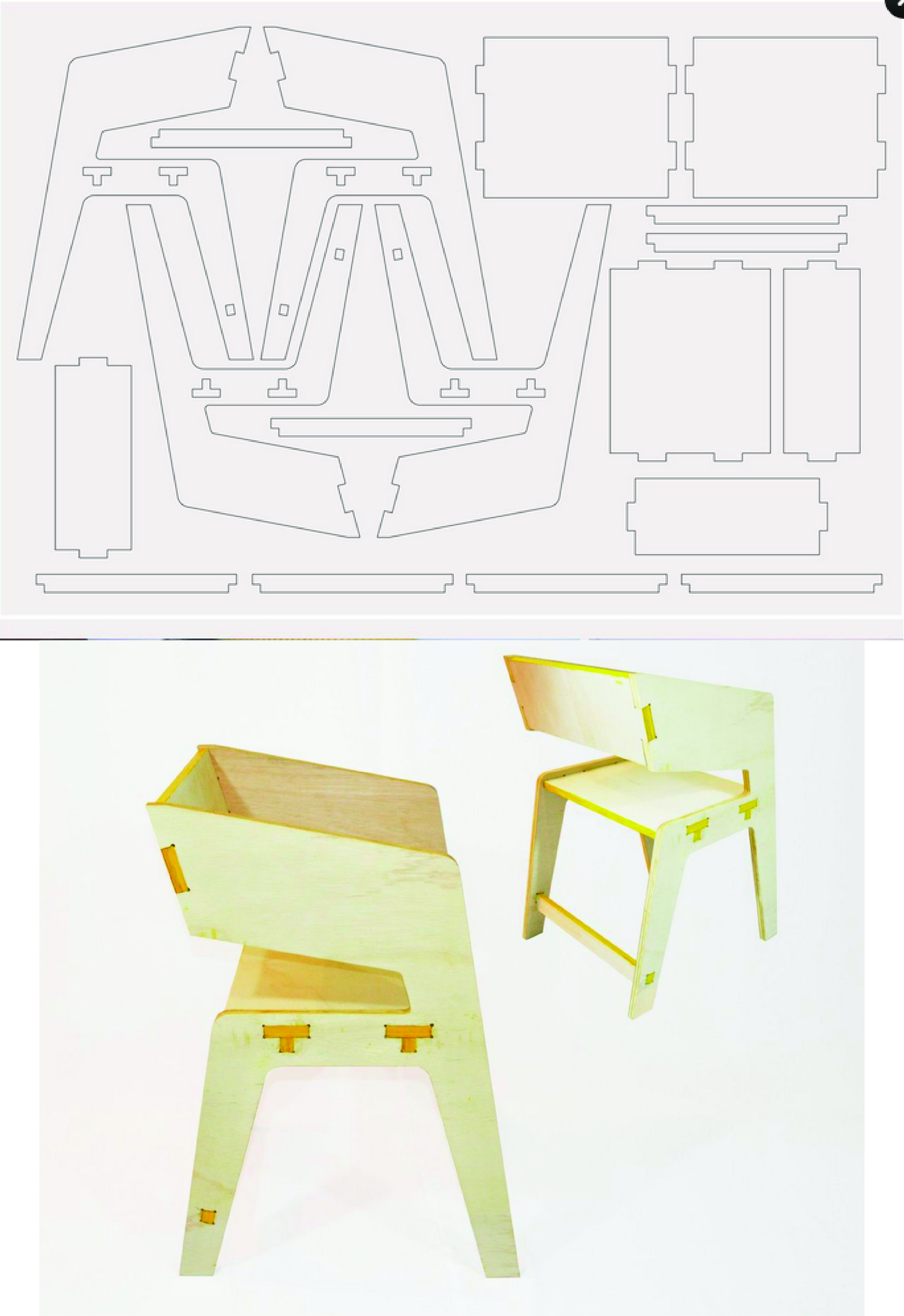 silla triplex chairs structure Pinterest