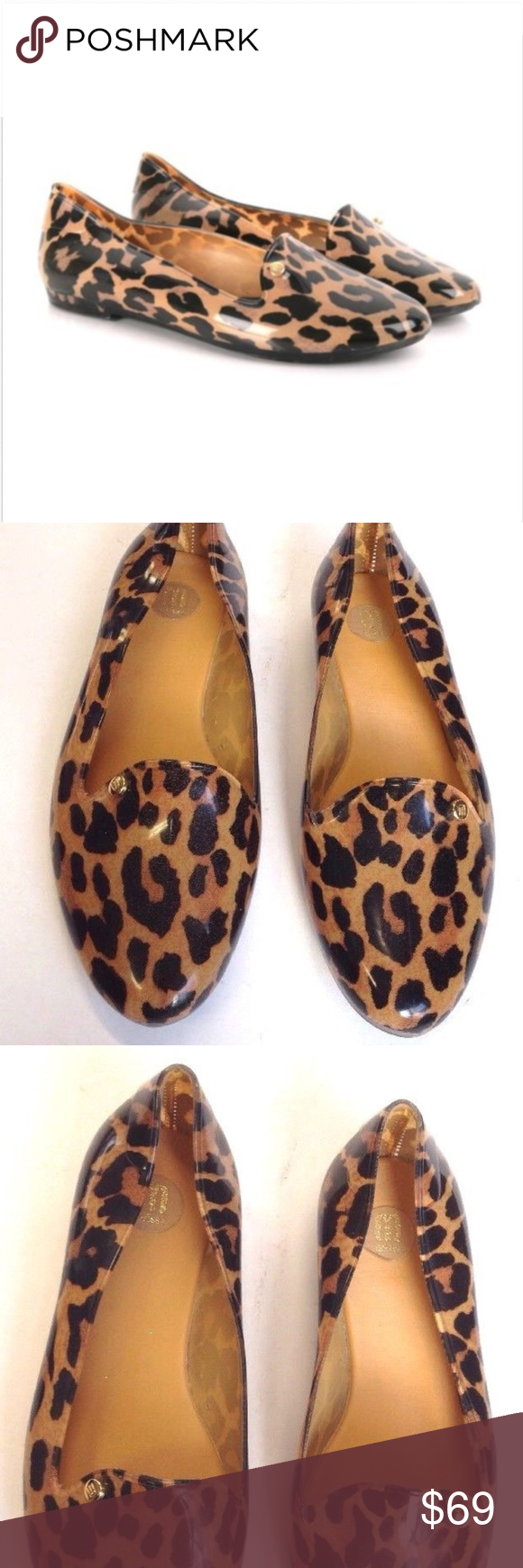 93a9fee6877 MELISSA VIRTUE LEOPARD PRINT JELLY LOAFERS animal NICE PAIR OF MELISSA  VIRTUE LEOPARD PRINT JELLY LOAFERS