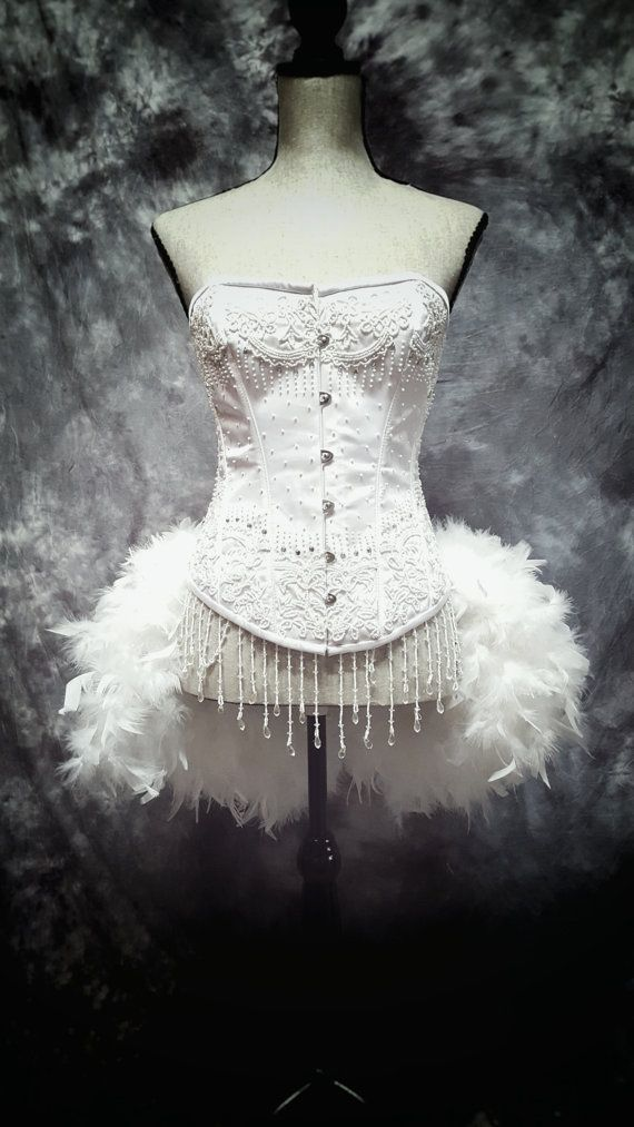 Snow White Feather Dress