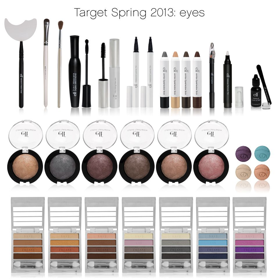 Check out the NEW items available at Target from e.l.f