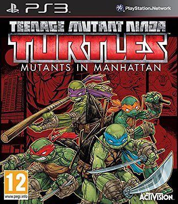 Teenage Mutant Ninja Turtles Mutants In Manhattan Playstation 3
