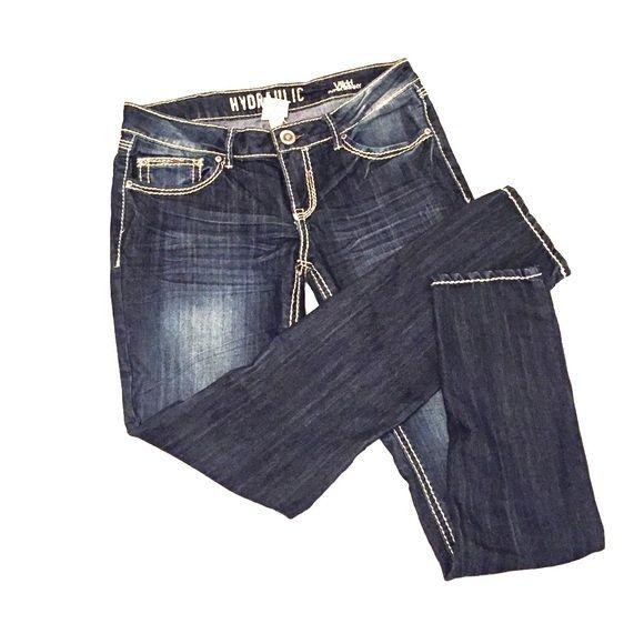 fc651926732 Hydraulic Vikki super skinny jeans Super skinny dark denim