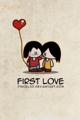 First Love Hd Desktop Wallpaper High Definition Fullscreen Valentines Wallpaper Romantic Wallpaper Love Wallpaper