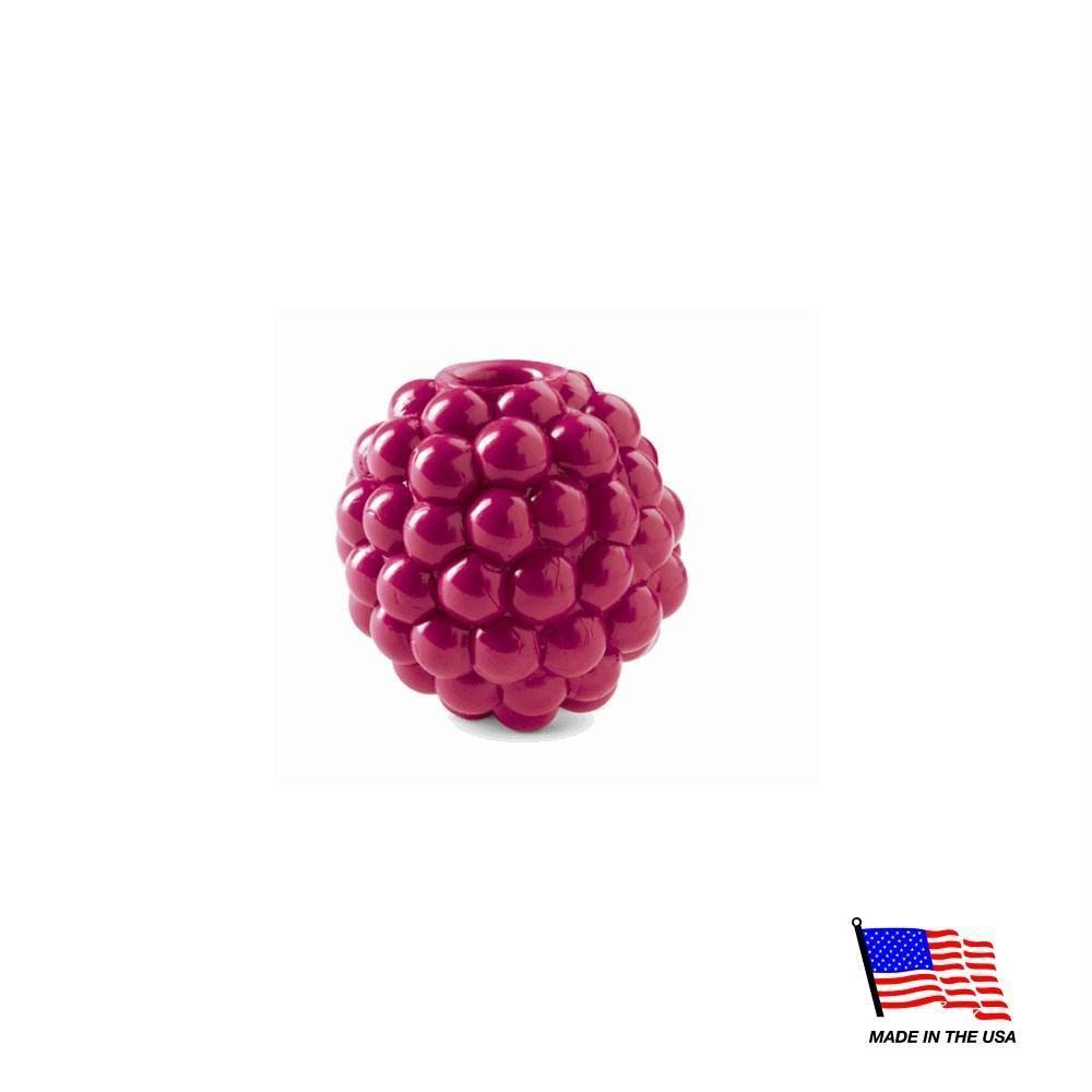 Orbee Tuff® Raspberry with Treat Spot™ | Raspberry, Treats, Toys