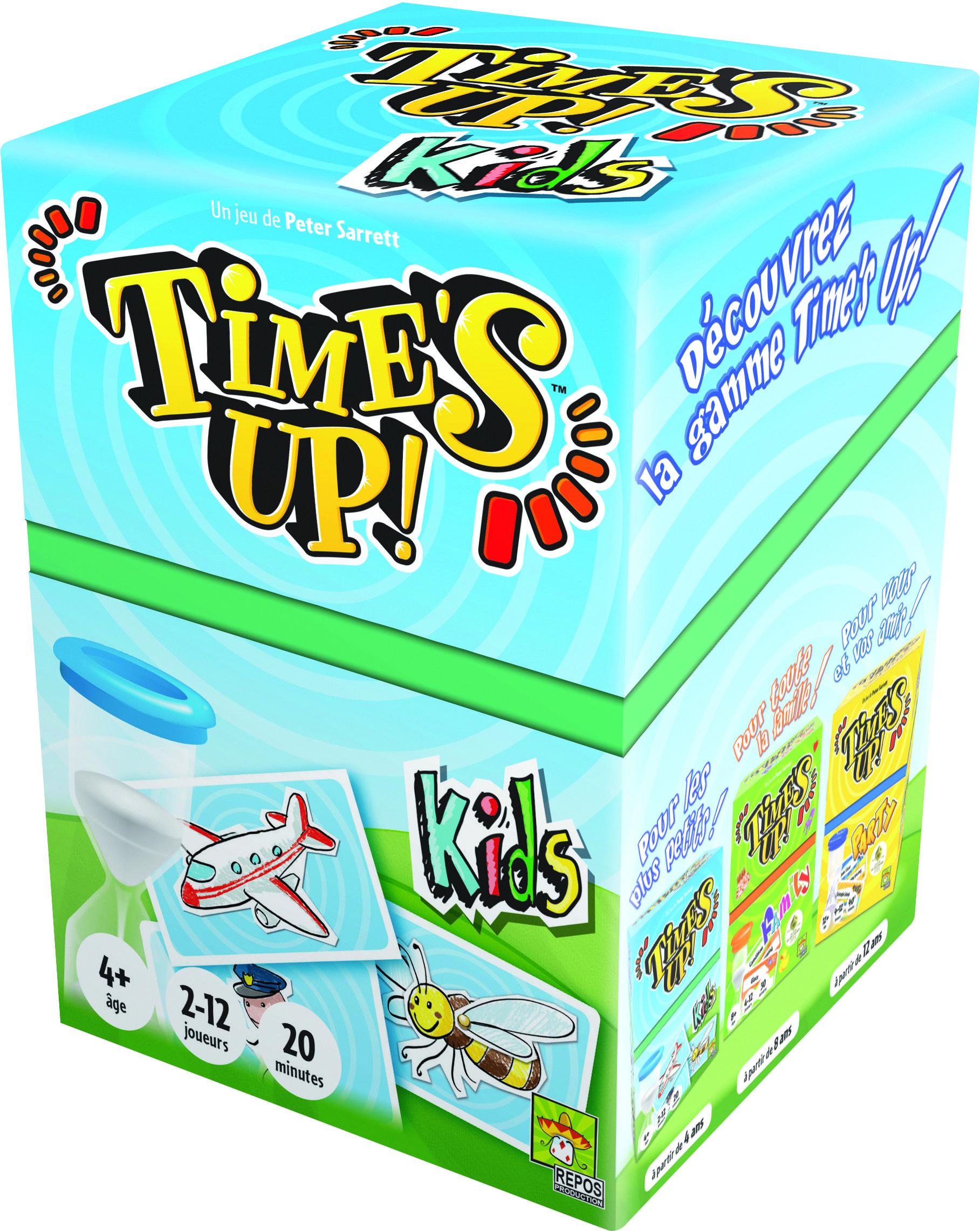 Jeu De Societe Time S Up Kids Version Chat Asmodee Bordspellen Voor Kinderen Kaartspellen