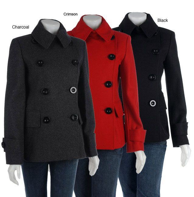 Pea Coat Female | ... pea coat black 10 outerwear marvin richards ...