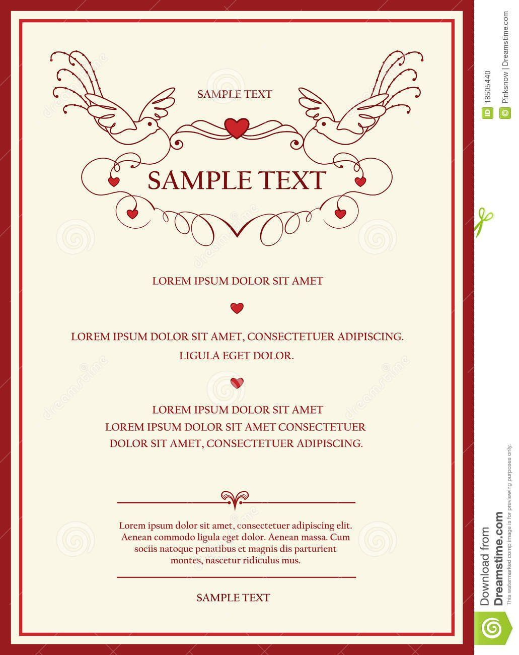 Wedding Invitation Cards Templates Wedding Invitations Pinterest