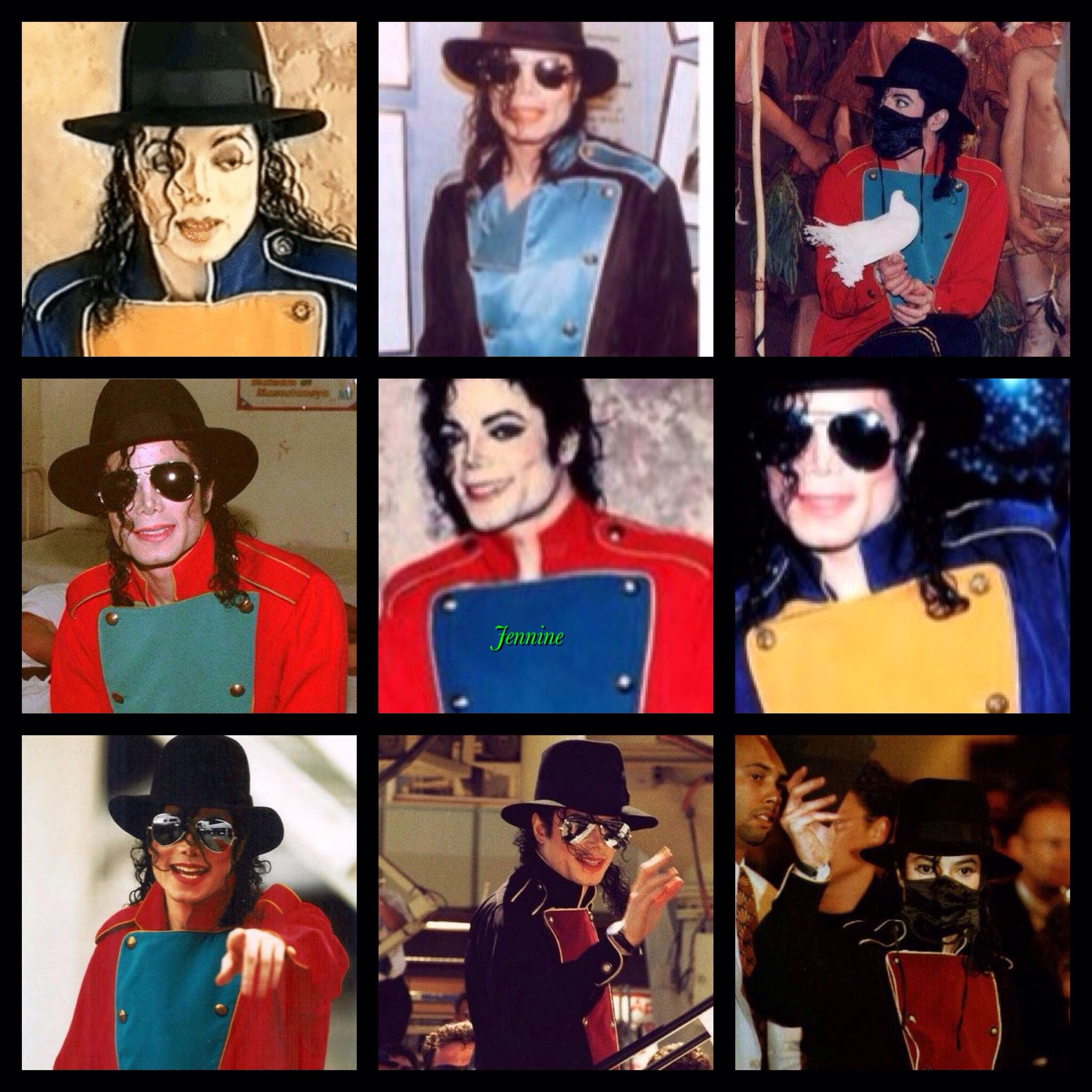 Michael And His Cute Button Over Tops In Many Colours The King Of
