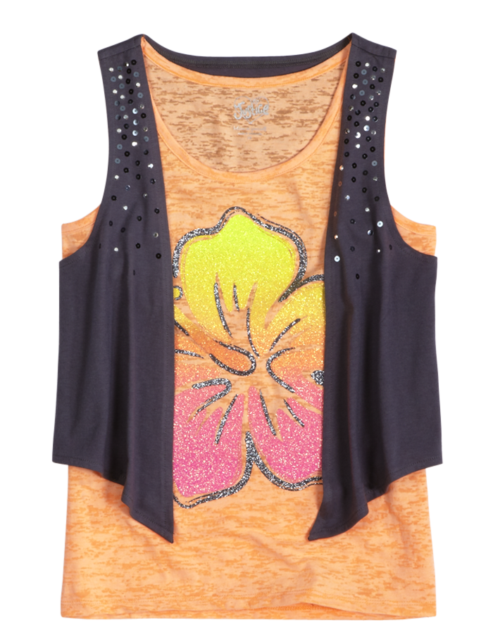 Girls Tops Stock Up Buy Girls Tank Tops Online Justice Clothing Clothes Girl Outfits