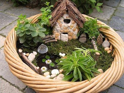 N - Jardins miniatura e Casas de fadas by My pages