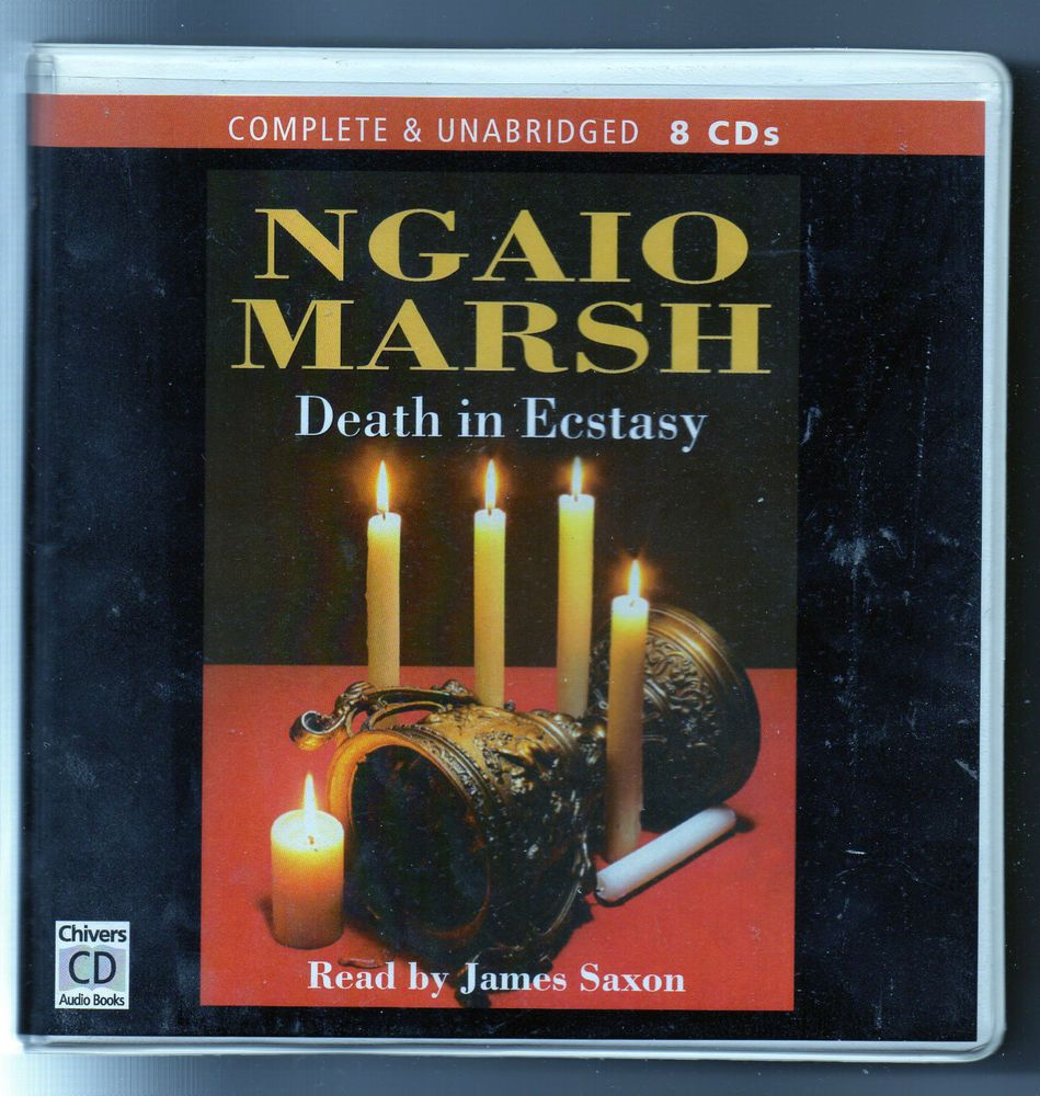 Ngiao marsh death in ecstasy disc audio talking book complete