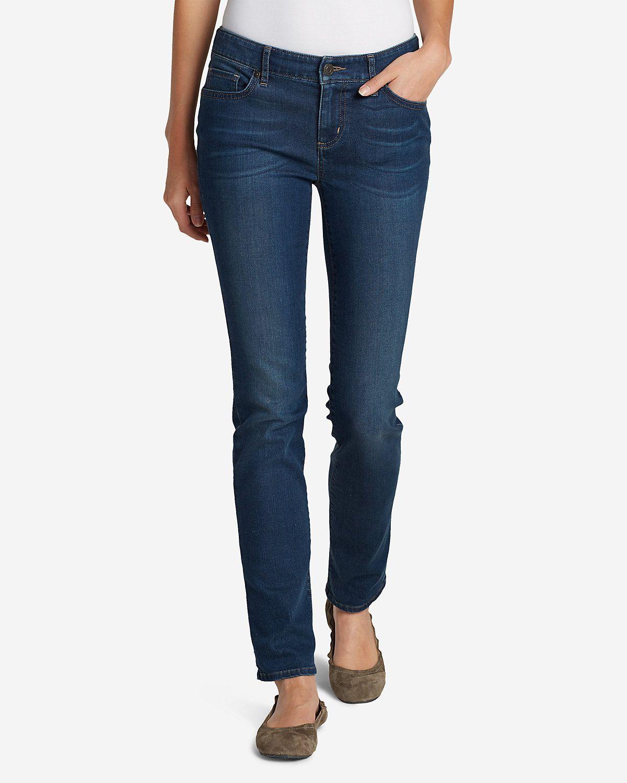 Womens Elysian Straight Leg Slim Jeans Eddie Bauer YvhNs5O5nP