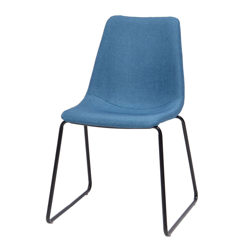 Stuhl Sofia Stahl Blau Schwarz Morteens Jetzt bestellen unter s
