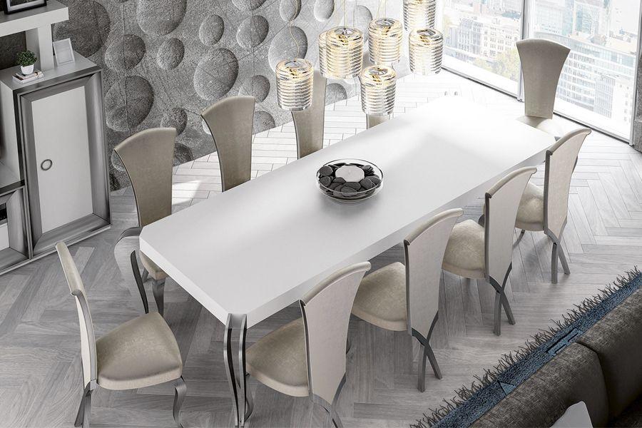 Conjunto de mesa y sillas de estilo clásico contemporáneo ...