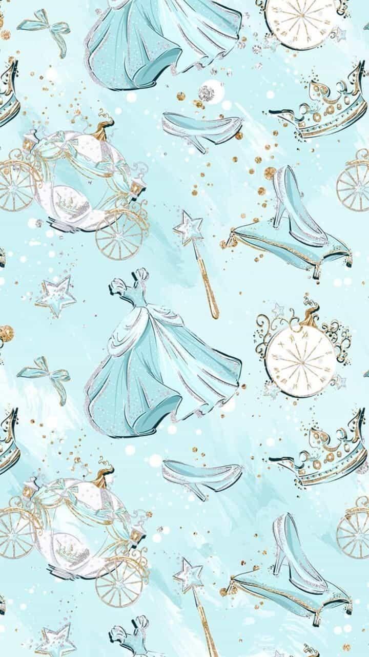 cinderella, disney, and blue | Disney | Pinterest | Hochzeiten ...