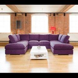 Quatropi Large Sofa Set Settee Corner Group U Shape Orange 3 X 2 1m Shaped