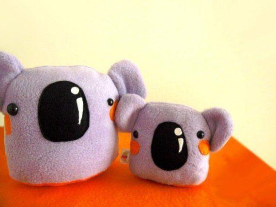 Bartholomew the Lavendar Koala by talkproof on Etsy | dolls & toys ...