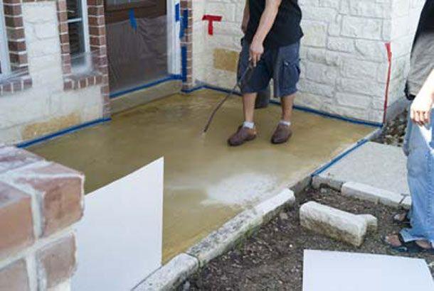 h concrete gallery decor ideas pinterest concrete staining