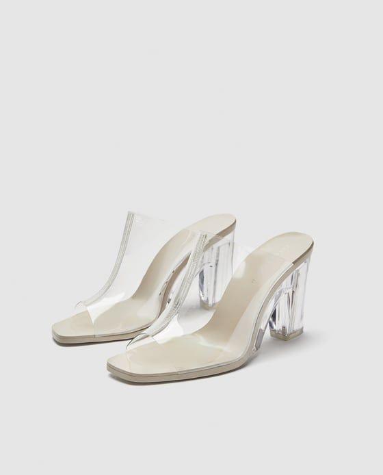Transparente En 2019 Imagen Zapatos De ZaraCalzado Zueco 3 8kZN0OnwXP