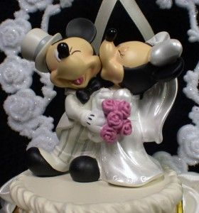 mickey and minnie mouse wedding cake toppers uk mickey amp minnie mouse wedding cake topper a can 17343
