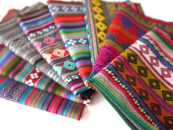 8 Peruvian Fabrics Sample Pack