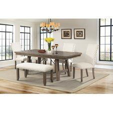 Dearing 6 Piece Dining Set Dining Pinterest