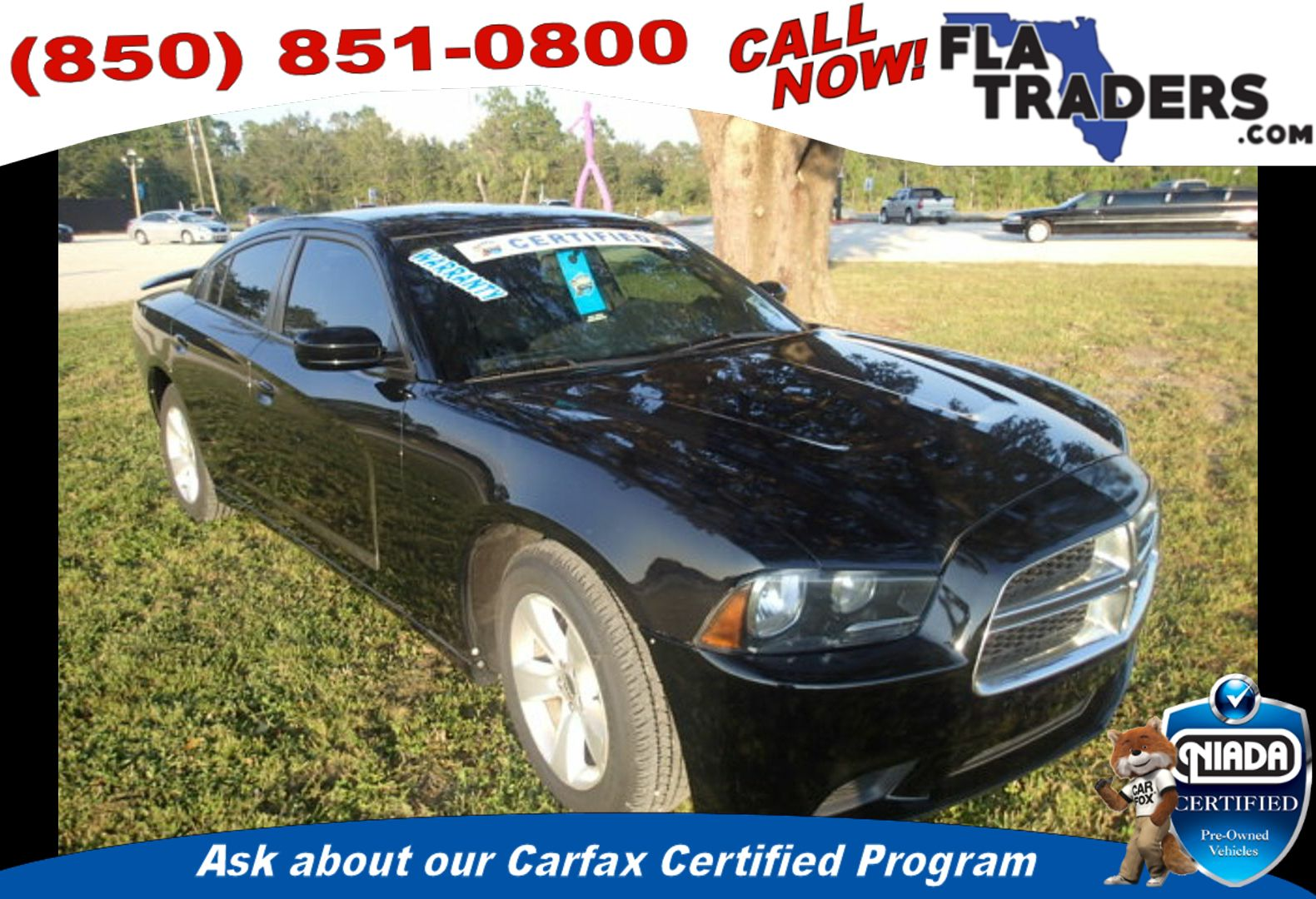 2012 DODGE CHARGER - Florida Traders Used Cars in Panama City FL ...