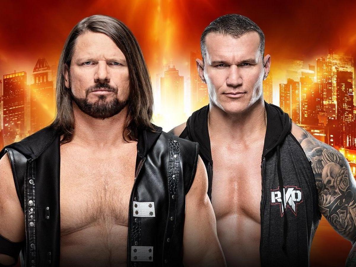 Aj Styles Defeats Randy Orton Via Phenomenal Forearm At Wwe Wrestlemania 35 Randy Orton Aj Styles Wrestlemania 35