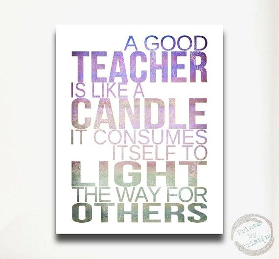 Teacher quote | Signs - Occupations | Best teacher quotes, Teacher