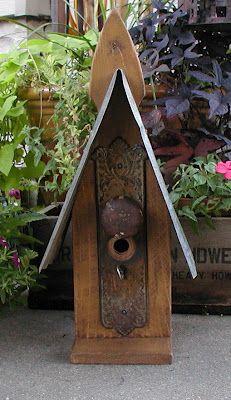 bell jar vintage its the little things door knob plates bird