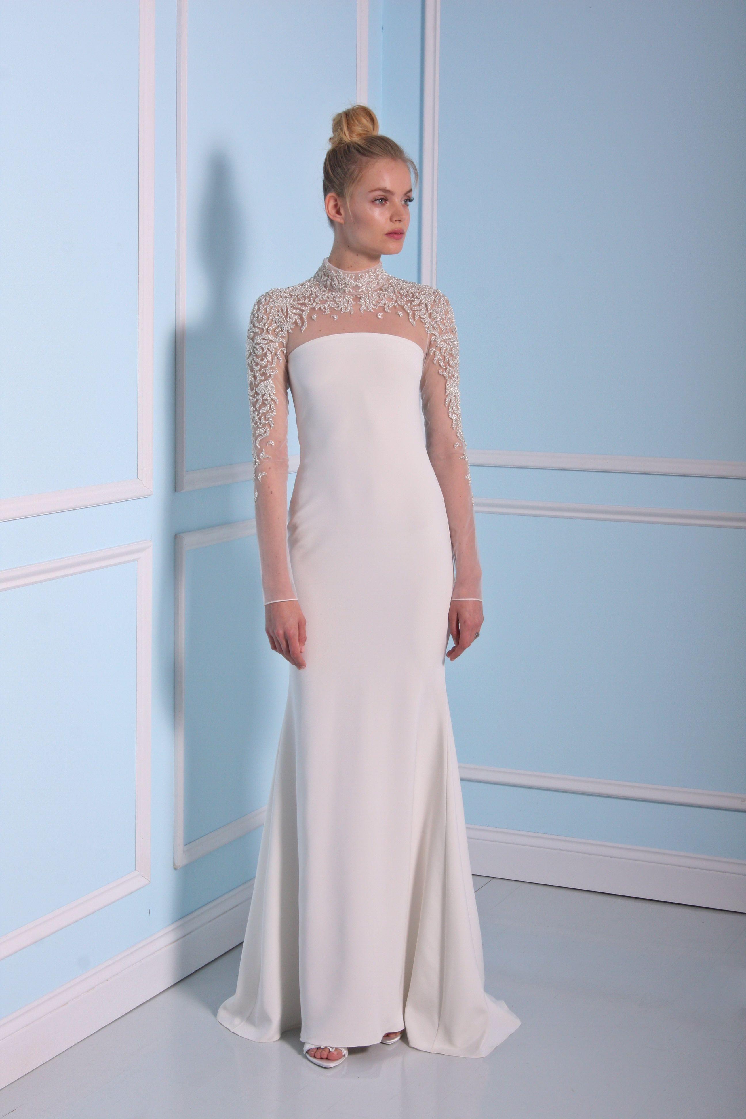 Bridal Market 2016 Dresses For Your Destination Wedding Kleinfeld Bridal Wedding Dresses Sheath Wedding Dress Bridal Gown Styles [ 3888 x 2592 Pixel ]