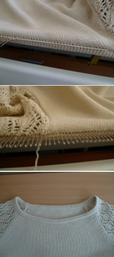 Knitting on a machine. Narrow piping. | maquina de tejer | Pinterest ...