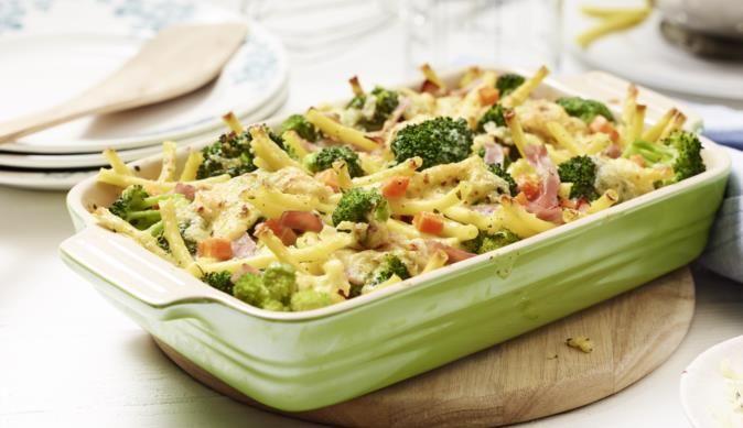 broccoli nudel schinken auflauf rezept auflauf gratin pinterest gekochter schinken. Black Bedroom Furniture Sets. Home Design Ideas