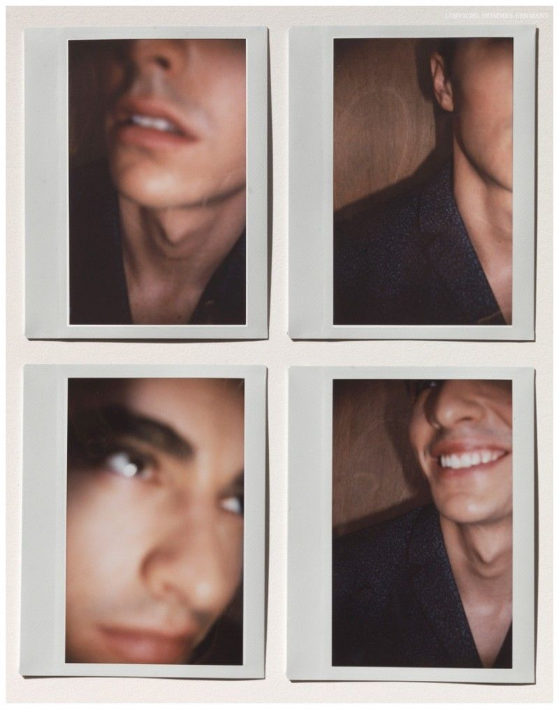 Dave Franco is Polaroid Happy for L'Officiel Hommes Germany Shoot