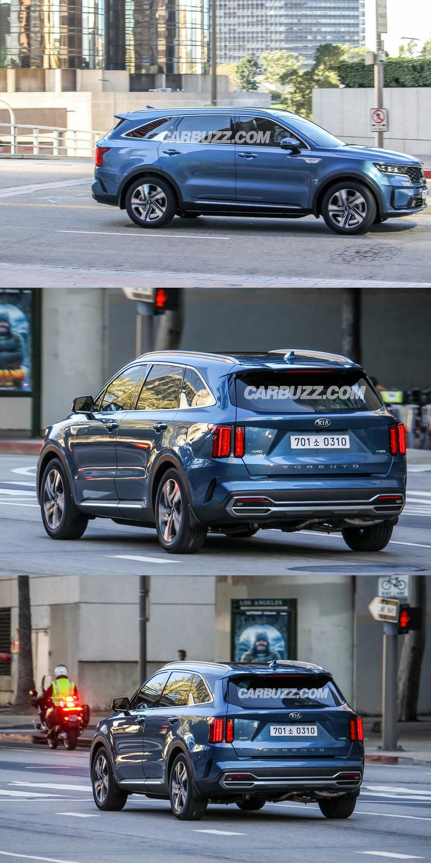 2021 Kia Sorento Spotted Completely Undisguised Check Out The Sorento Before Kia Wants You To See It In 2020 Kia Sorento Sorento Kia
