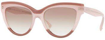 be9820c8150 Valentino Rockstud Rivet Two-Tone Cat-Eye Sunglasses