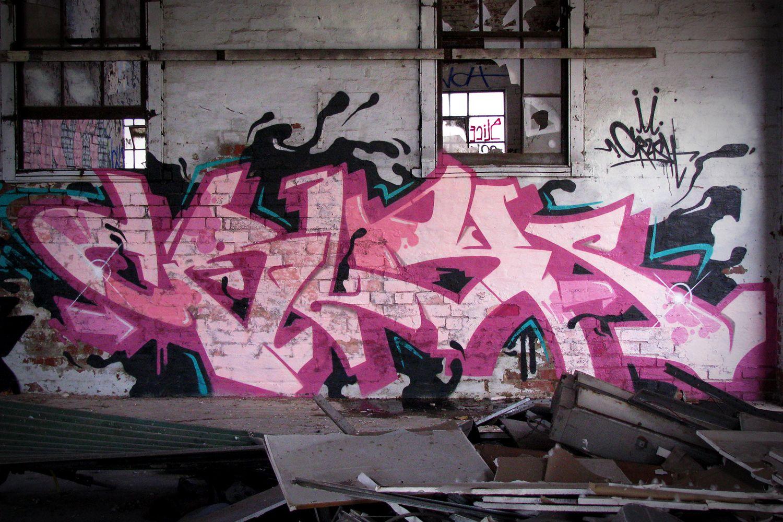 граффити в картинках цвет