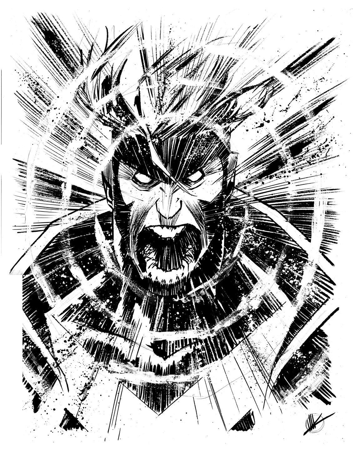 Havok By Matteo Scalera Sketches Comic Book Artists Comic Art