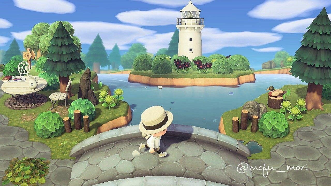 森 レイアウト あつ 灯台