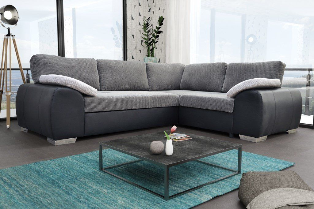 Colorado Corner Sofabed Suite Couch Corner Group In Black Grey Left Or Right Corner Sofa Bed With Storage Corner Sofa Bed Sofa Bed Uk