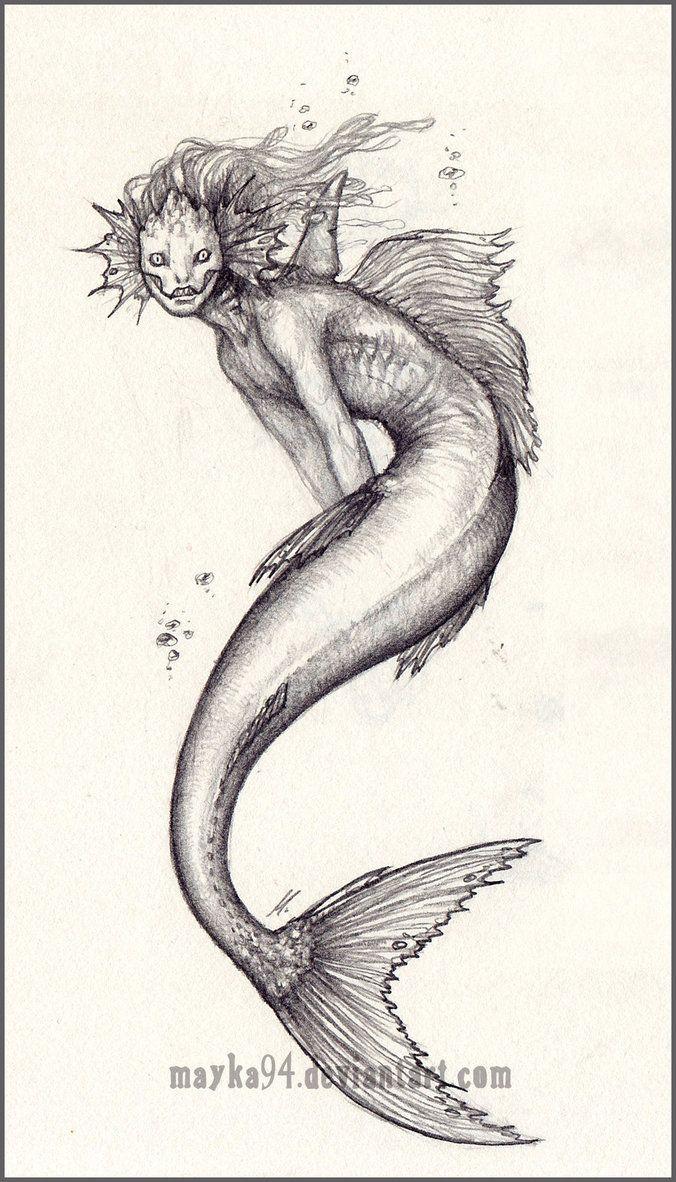 Mermaid by Mayka94 on DeviantArt
