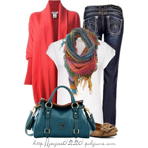 """Colorful Scarf"" - Polyvore"