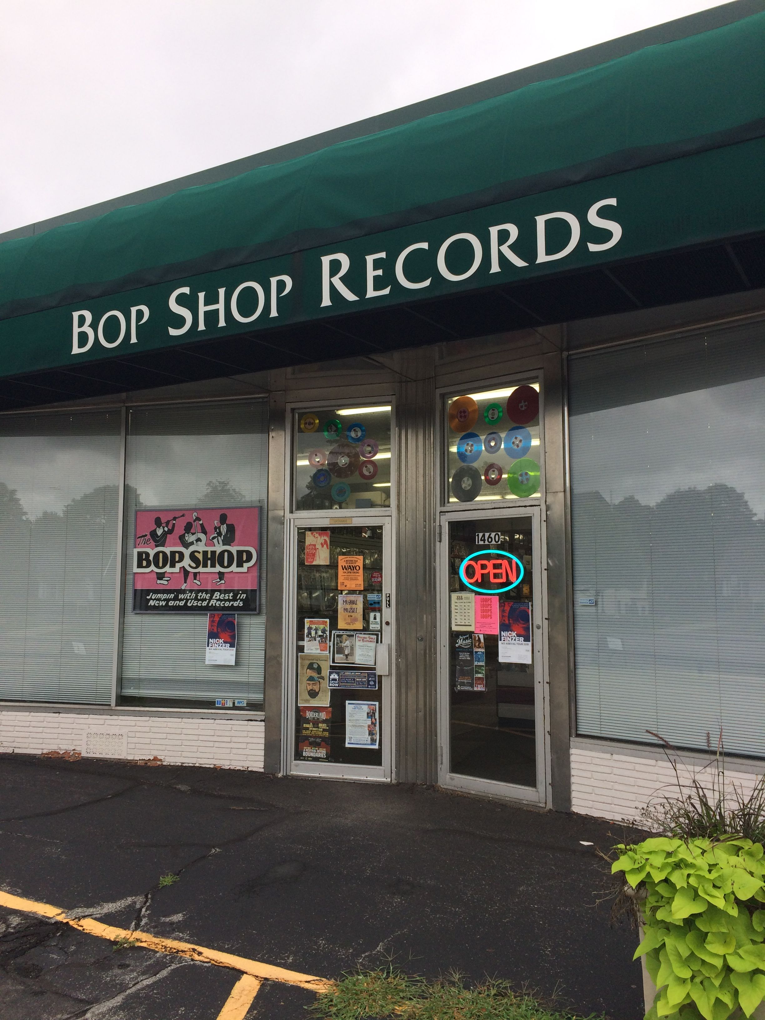 Bop Shop Records: Rochester, NY. Aug 2018. Great selection
