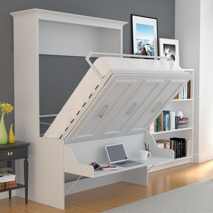 Tova Portrait Wall Murphy Bed Murphy Bed Desk Queen Murphy Bed